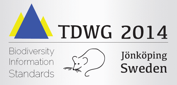 logo for Biodiversity Information Standards (TDWG) 2014 Conference