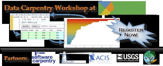 banner for Data Carpentry Workshop