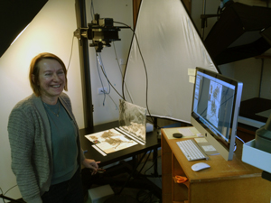 Type specimen imaging station for the Global Plants Initiative