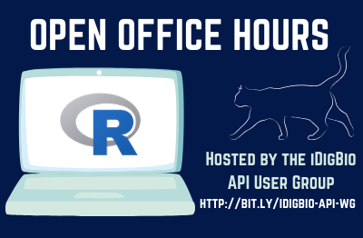 2020 Open Office Hours hosted by the API User Group (R based